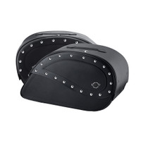 Honda VTX 1300 C Ultimate Extra Large Studded Motorcycle Saddlebags 3