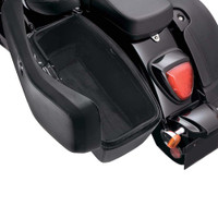 Honda VTX 1800 F Viking Lamellar Slanted Painted Motorcycle Hard Saddlebags