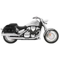 Honda VTX 1800 T (Tourer) Trianon Studded Leather Motorcycle Saddlebags