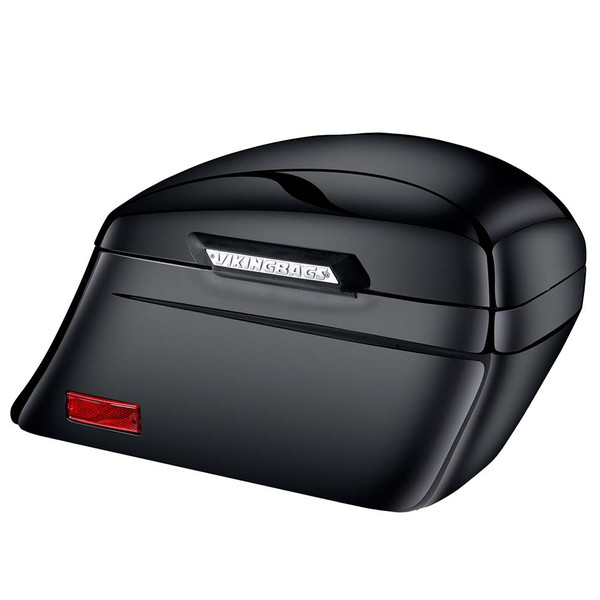 Suzuki Boulevard C90, VL1500 Viking Lamellar Slanted Painted Motorcycle Hard Saddlebags