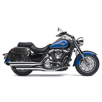 Kawasaki Vulcan 1700 Classic Viking Odin Large Studded Motorcycle Saddlebags