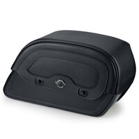 Triumph Thunderbird LT Warrior Slanted Large Leather Motorcycle Saddlebags