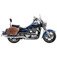 Triumph Thunderbird LT Viking Warrior Series Brown Large Motorcycle SaddleBags