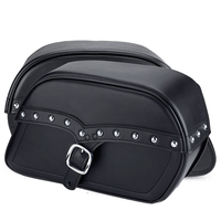 Triumph Thunderbird LT SS Slanted Studded Medium Motorcycle Saddlebags