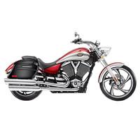 Victory Vegas Viking Lamellar Slanted Painted Motorcycle Hard Saddlebags