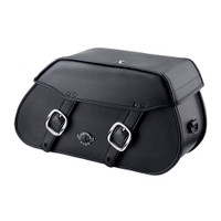 Viking Pinnacle Large Motorcycle Saddlebags For Harley Softail Sport Glide