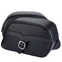 Harley Softail Cross Bones FLSTSB Universal Medium Plain Single Strap Bags 3
