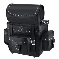Viking Revival Series Studded Motorcycle Tail Bag