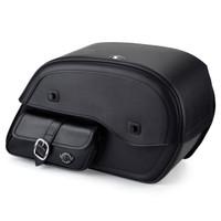 Viking Side Pocket Large Motorcycle Saddlebags For Harley Softail Breakout 114 FXBRS