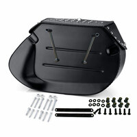 Viking Specific Studded Saddlebags For Harley Softail Breakout 7