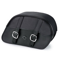 Viking Slanted Large Motorcycle Saddlebags For Harley Softail Low Rider S FXLRS