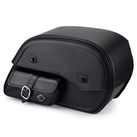 Viking Side Pocket SS Large Motorcycle Saddlebags For Harley Softail Low Rider S FXLRS