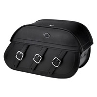 Viking Trianon Motorcycle Saddlebags For Harley Softail Low Rider S FXLRS