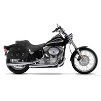 Harley Softail Standard FXST Trianon Leather Saddlebags