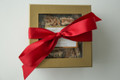 1 pound Gift Box - White Satin