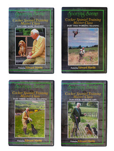 Cocker Spaniel Training DVD by Martin