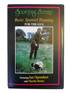 Basic Spaniel Training DVD by Openshaw
