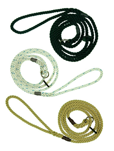 Slip Leads - 6mm Nylon Rope