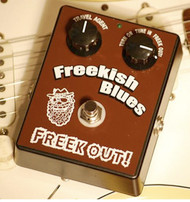 Freekish Blues Pedals Freek Out