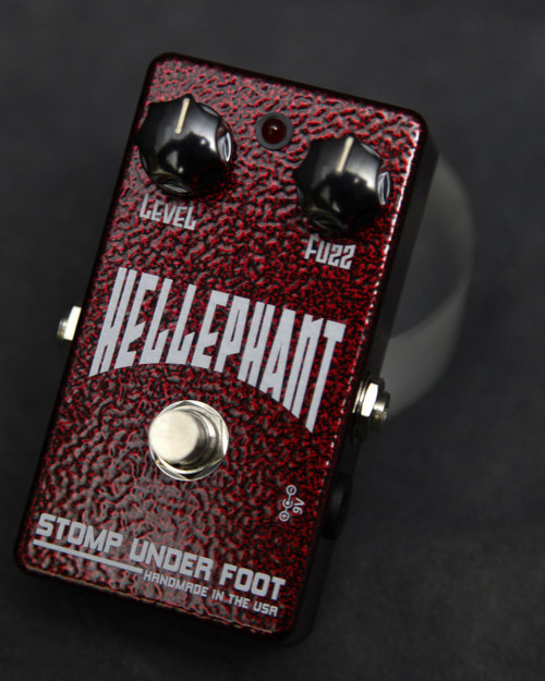 Stomp Under Foot Pedals Hellephant Fuzz