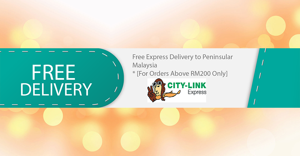 Free Express Delivery For Orders Above RM200