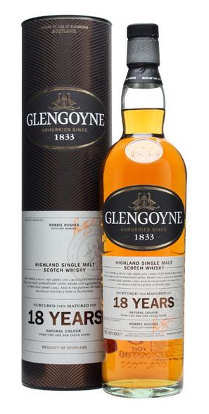 Glengoyne Highland Single Malt Scotch Whisky 18 Year Old [700ml]
