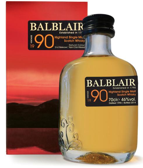 Balblair 1990 Highland Single Malt Scotch Whisky [700ml]