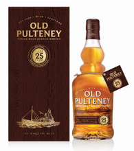 Old Pulteney Single Malt Scotch Whisky 25 Year Old [700ml]