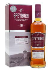 Speyburn Speyside Single Malt Scotch Whisky 18 Year Old [700ml]