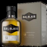 Balblair Highland Single Malt Scotch Whisky 12 Year Old [1000ml]