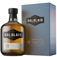Balblair Highland Single Malt Scotch Whisky 15 Year Old [1000ml]