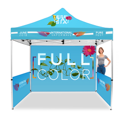 10ft. Best Custom Full Color Event Tents