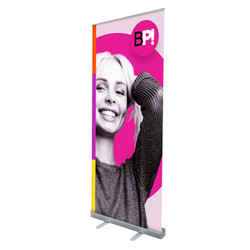 "33"" Edge Retractable Banner Stand"