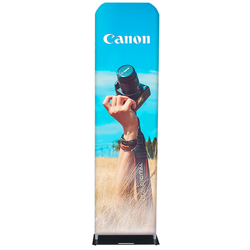 "24"" Rise Double-Sided Fabric Banner Stand"