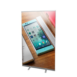 "47"" Edge Retractable Banner Stand"