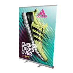 "57"" Edge Retractable Banner Stand"