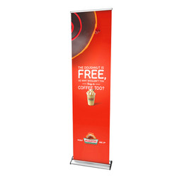 "24"" Edge Retractable Banner Stand"