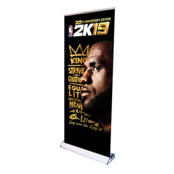"33"" Edge Deluxe Retractable Banner Stand"