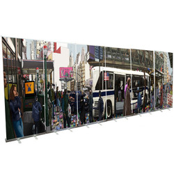 20ft. Instant Banner Stand Wall (Econo)