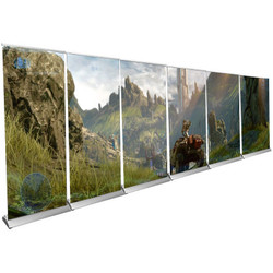 20ft. Instant Banner Stand Wall (Pro)