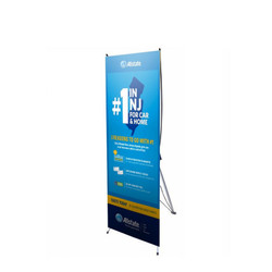 "24"" Edge X Frame Free Standing Banner Stand"