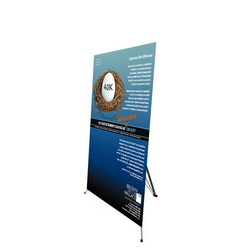"48"" Edge X Frame Free Standing Banner Stand"