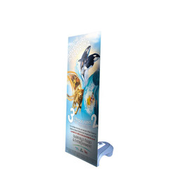 "24"" Edge X Frame Free Standing Outdoor Banner Stand"