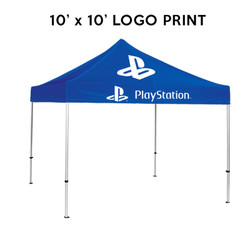 10ft. Best Custom Printed Logo Event Tents