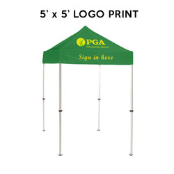 5ft. Best Custom Printed Logo Event Tents