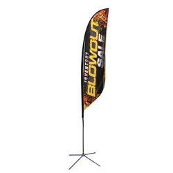 13ft. Best Feather Ad Flag Outdoor Banner
