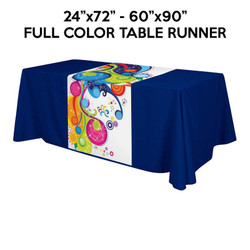 Adorn Custom Size Full Color Table Runner