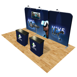 Connect 20x10 Trade Show Booth Kit (B)