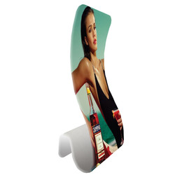 "36"" Rise Wavy Fabric Banner Stand"