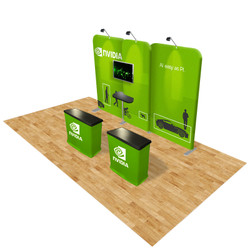 Connect 20x10 Trade Show Booth Kit (A)